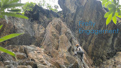 Rock Climbing Photo: FA of The Firefly Project (Firefly Engagement 5.12...