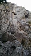 Rock Climbing Photo: Grins 5.8, full view.