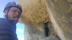 Rock Climbing Photo: Starting pitch 2!