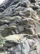 Rock Climbing Photo: Bolt line