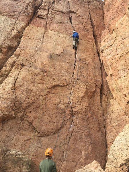 Rock Climbing Photo: shelf3