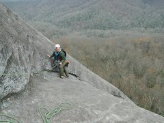 Rock Climbing Photo: No Alternative, Stone Mountain, NC