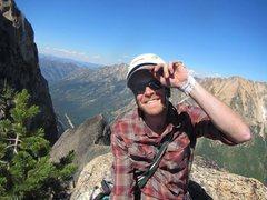 Rock Climbing Photo: On Liberty Bell.