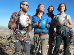 Rock Climbing Photo: These are some of my closest friends and fake-band...