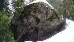 Rock Climbing Photo: The Kenny Loggins boulder.  Separate from the main...