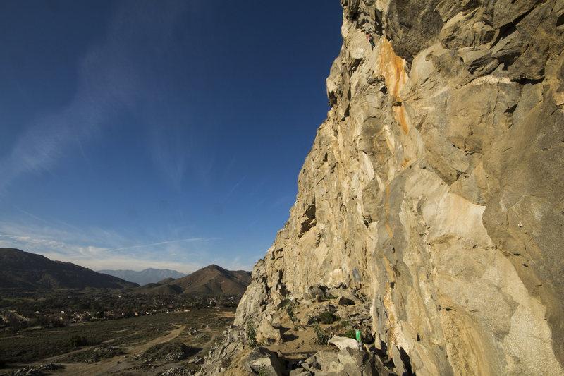 Rock Climbing Photo: Stellar climbing