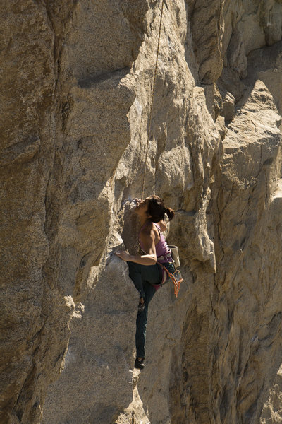 Rock Climbing Photo: No shame in the TR.