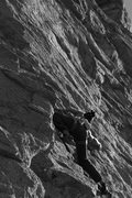 Rock Climbing Photo: A sea of granite.