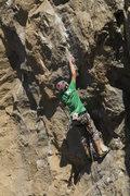 Rock Climbing Photo: Mike down low.