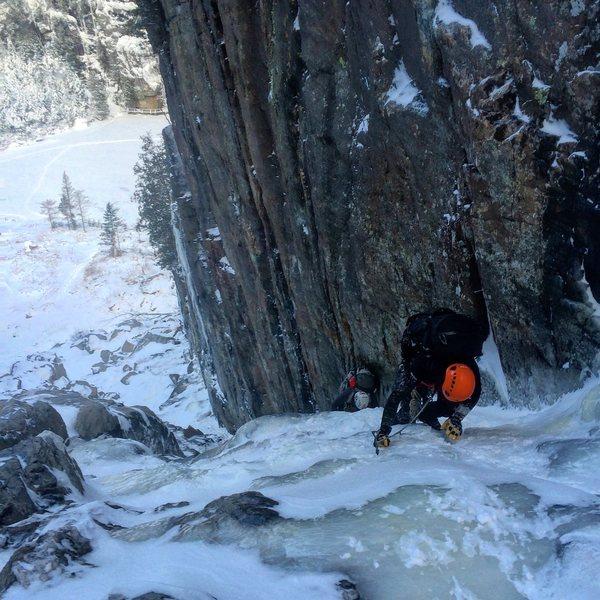 Rock Climbing Photo: Trap Dike
