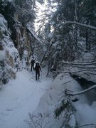 Rock Climbing Photo: Avalanche pass ski trail