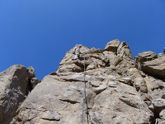 Rock Climbing Photo: Amy Wilkins on, Anonymous Bolter. 5.5