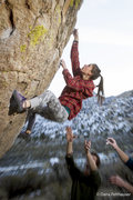 Rock Climbing Photo: Sara Radman puts together all the moves on Go Gran...
