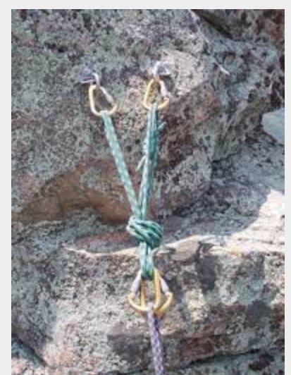 Rock Climbing Photo: Proper anchor