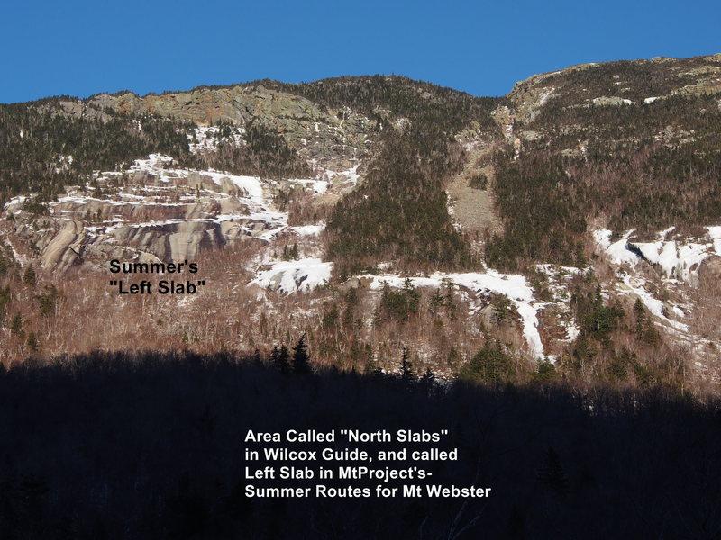 "Rock Climbing Photo: ""North Slabs"" aka summer's ""Left an..."