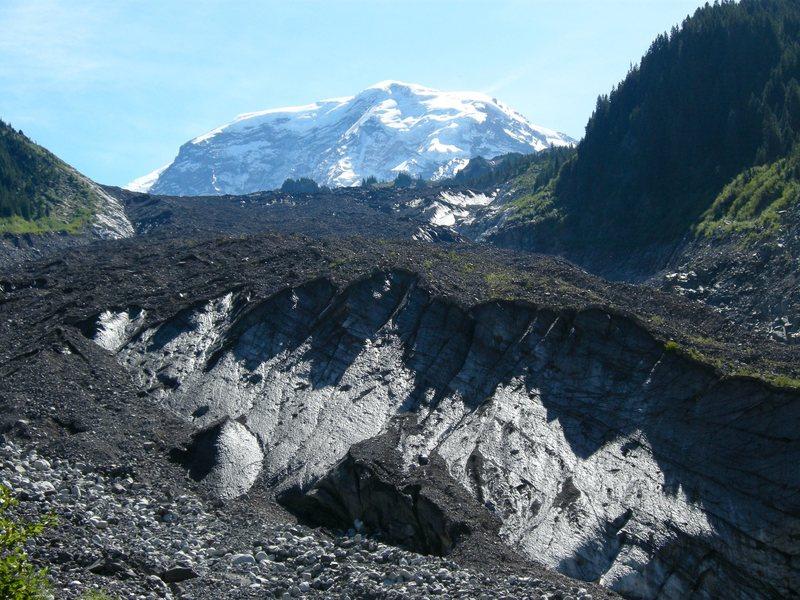 Carbon Glacier, Mt. Rainier N.P.