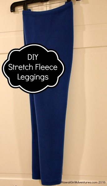 Polartec Power Stretch Fleece Leggings