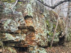 Rock Climbing Photo: Smaller wall between Cave Wall and the Last Chance...