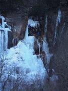 Rock Climbing Photo: upper pillar