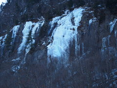 Rock Climbing Photo: Smear from trestle 2/2/16
