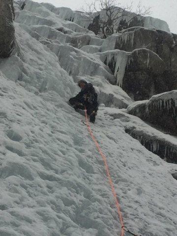 Rock Climbing Photo: Gettin scrappy on Scruffy
