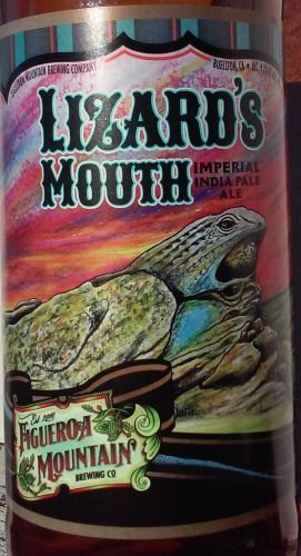 Lizard's Mouth Imperial IPA by Figueroa Mountain Brewing Co.