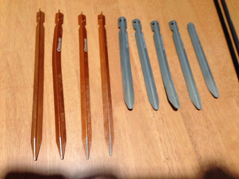 Stakes that I replaced
