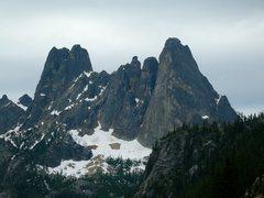 Rock Climbing Photo: Liberty Bell Group.