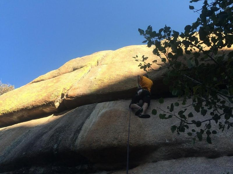 Rock Climbing Photo: Nearly crapped out....