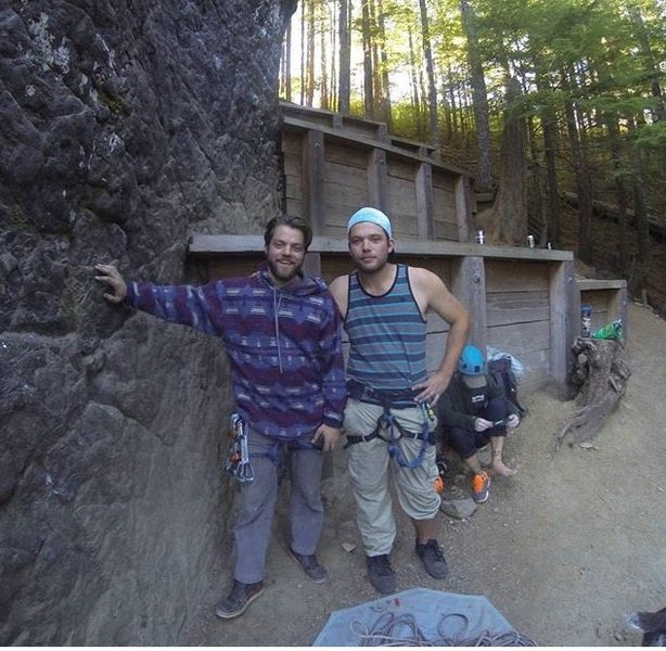 Rock Climbing Photo: Chillin with the big brother at frenchs dome