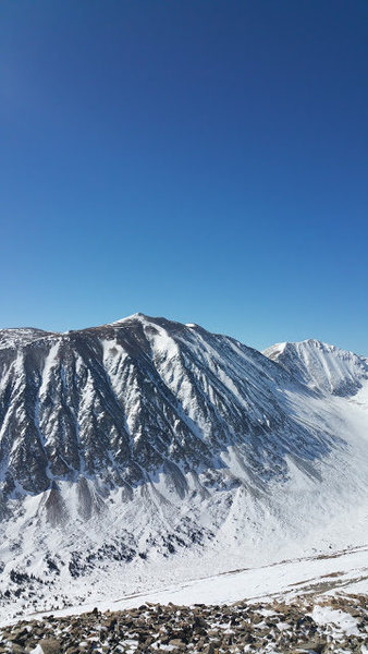 Rock Climbing Photo: North star 14er in vail district CO