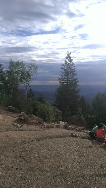 Rock Climbing Photo: Top of the incline on Pikes Peak