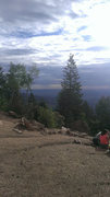 Top of the incline on Pikes Peak