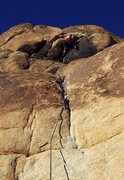 Rock Climbing Photo: South Face Route on Willit Pillar.  Photo by Jill....