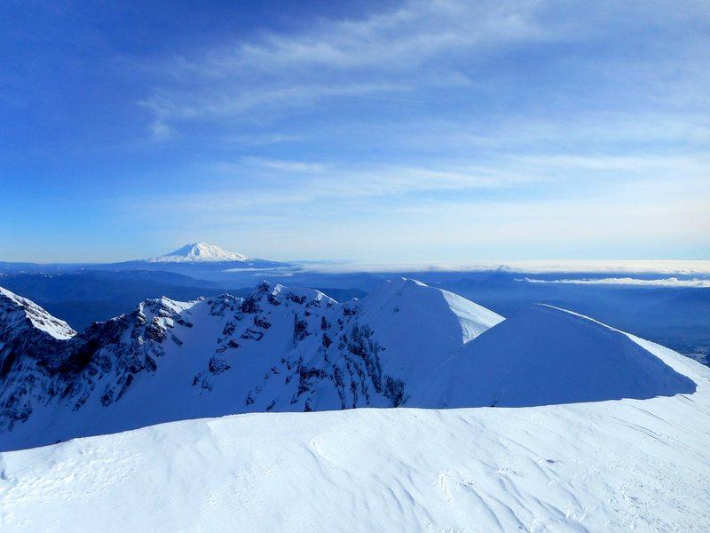 Rock Climbing Photo: Mt. St. Helens summit.