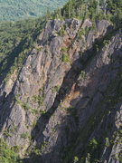 Rock Climbing Photo: close up of top section