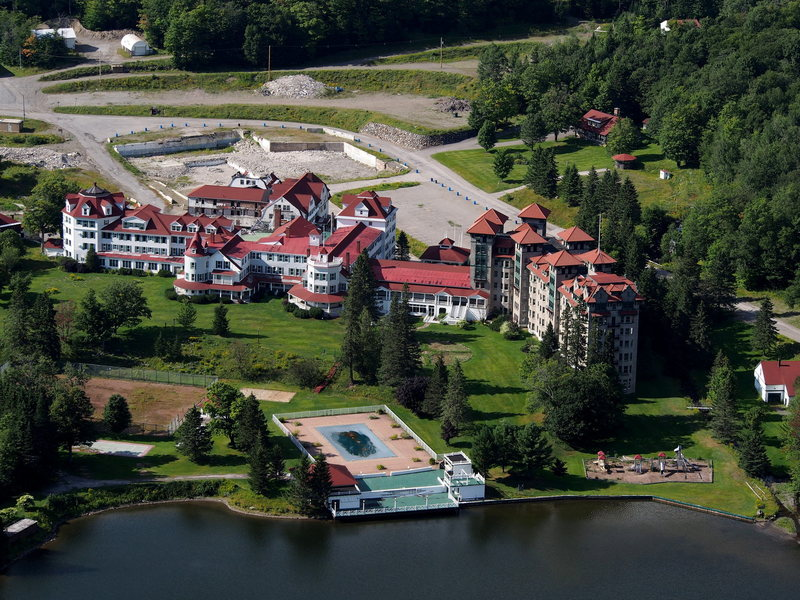 "Rock Climbing Photo: ""The Balsams Grand Hotel"" Once the pride..."