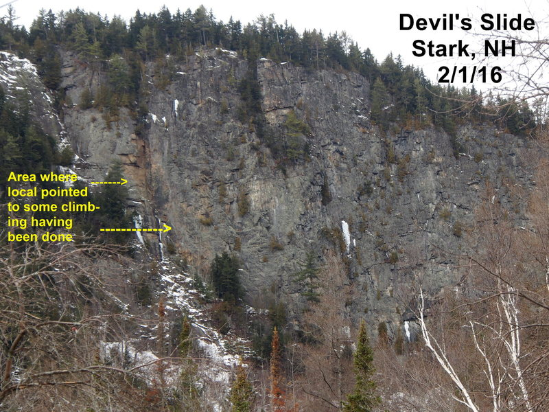 Devil's Slide, Stark, NH (see COMMENTs)