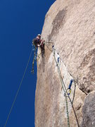 Rock Climbing Photo: Leading this via aid - because heck if I could lea...