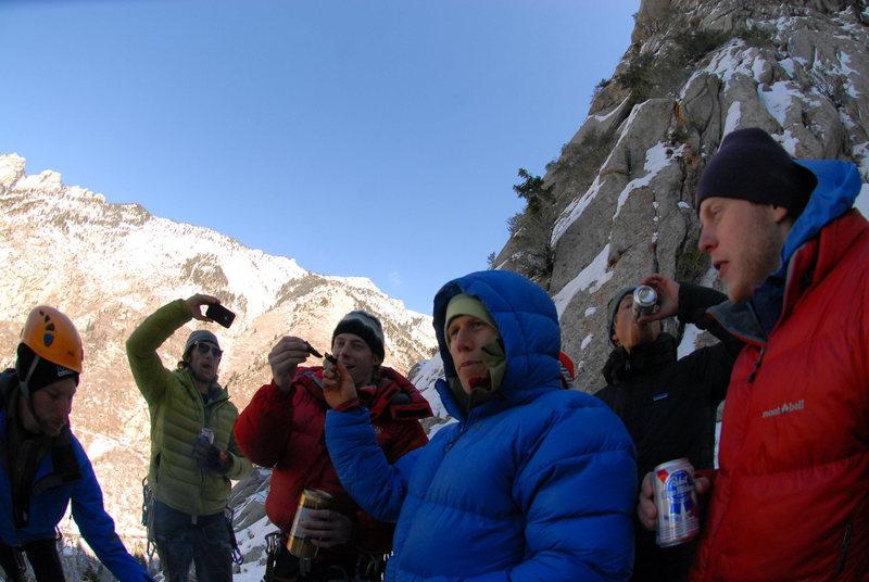 Rock Climbing Photo: 2012 NST GWI BBQ