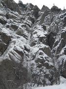 Rock Climbing Photo: The Scottish Gully!