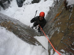 Rock Climbing Photo: Timothy K Kelly on the final corner