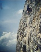 Rock Climbing Photo: Klettersteigen in Austria