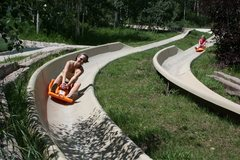 Rock Climbing Photo: Alpine slide