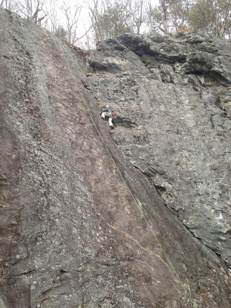 This is a fantastic climb! Look how big! well protected and just plain fun. Bring a small rack and DO THIS ROUTE if you haven't yet...<br>