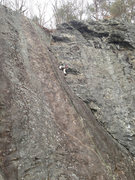Rock Climbing Photo: This is a fantastic climb! Look how big! well prot...