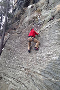 Rock Climbing Photo: one more angle of Devers on Working Man... really ...