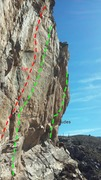 Rock Climbing Photo: fingery goodness.
