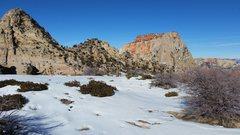 Rock Climbing Photo: True alpine