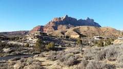 Rock Climbing Photo: Start hike from Chinle TH in the Anasazi subdivisi...